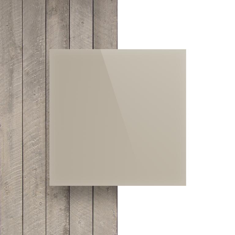 Vorseite Acrylglas Platte glanzend perlweiss
