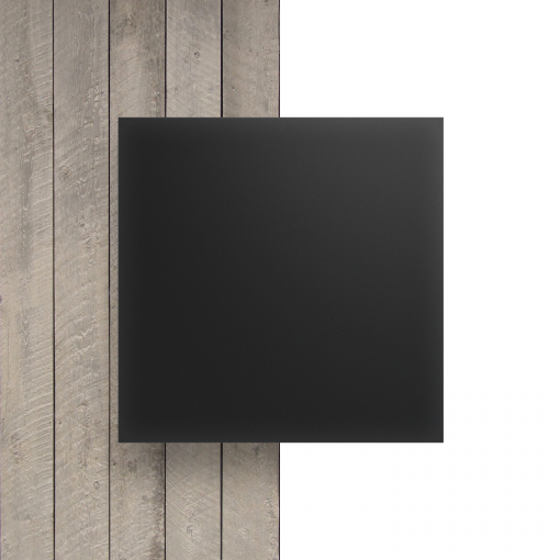 Vorseite Acrylglas Platte matt anthrazitgrau