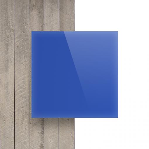 Vorseite Acrylglas Platte opal blau