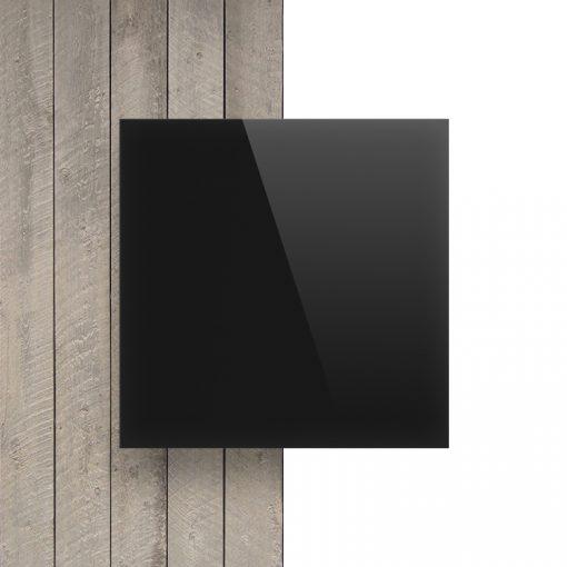Vorseite Acrylglas Platte schwarz