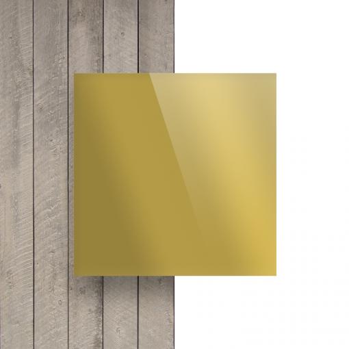Vorseite Acrylglas Platte spiegel gold