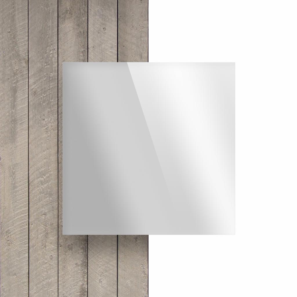 Vorseite Acrylglas Platte spiegel silber