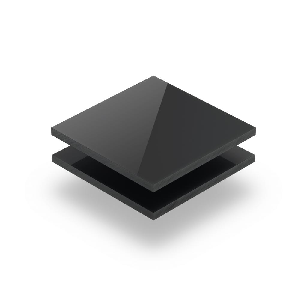 Anthrazitgrau RAL 7016 Acrylglas Platte glänzend