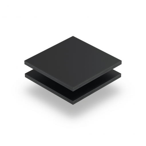Anthrazitgrau RAL 7016 Acrylglas Platte matt