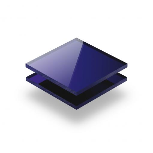 Blau spiegel Acrylglas Platte XT