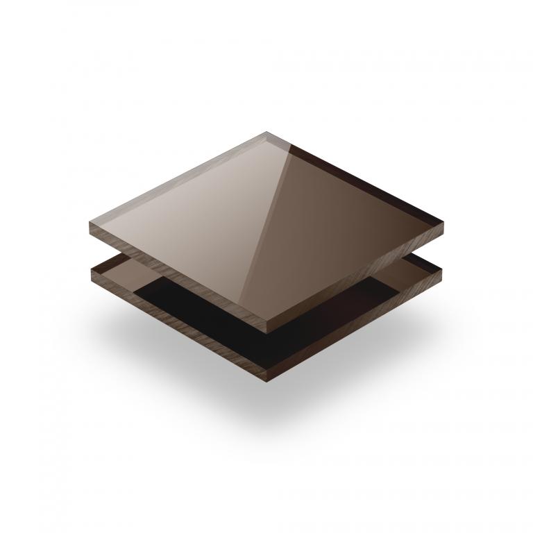 Bronze spiegel Acrylglas Platte XT