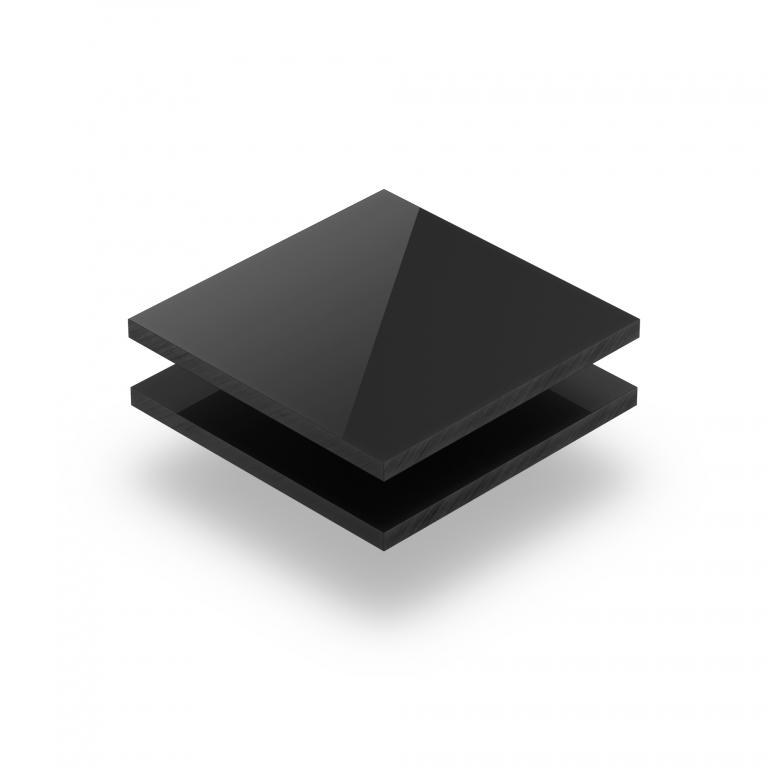 Ebony RAL 7021 Acrylglas Platte glänzend