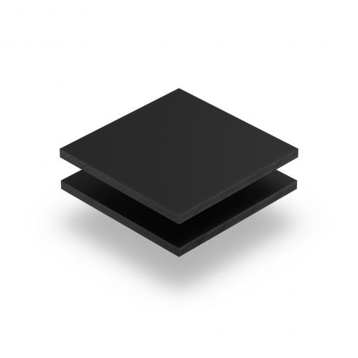 Ebony RAL 7021 Acrylglas Platte matt