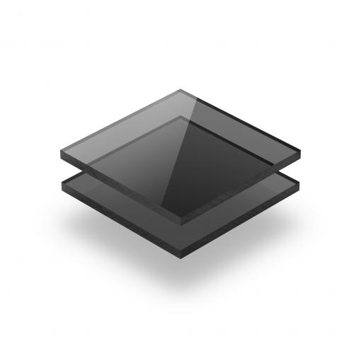 Grau getönt Acrylglas Platte GS