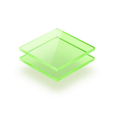 Grün fluoreszierend Acrylglas Platte GS
