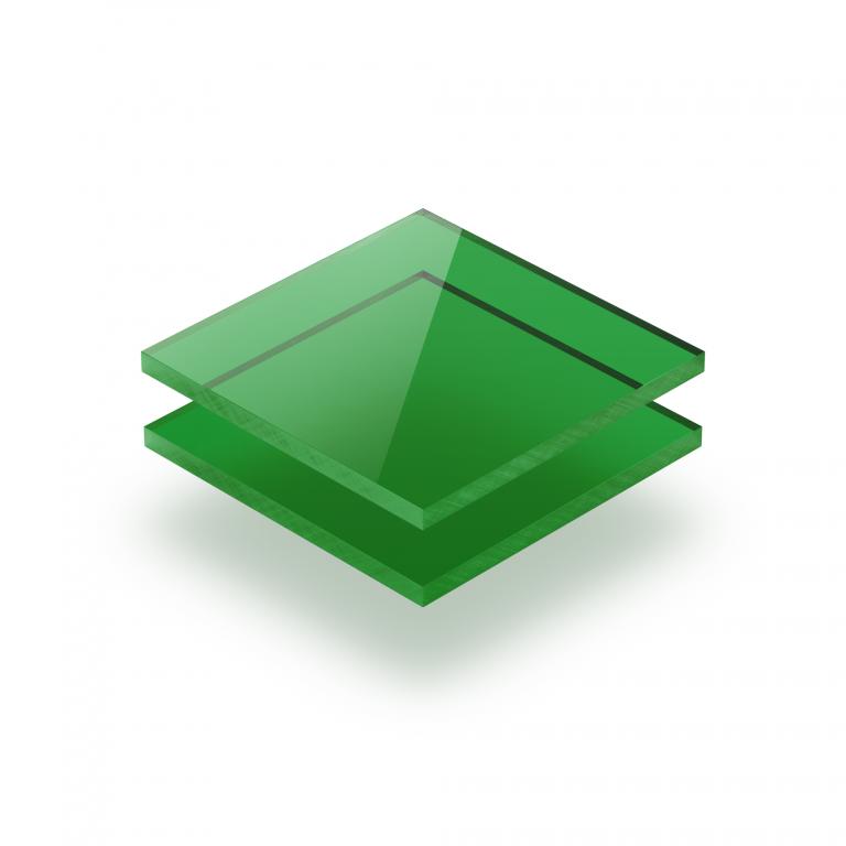Grün getönt Acrylglas Platte GS