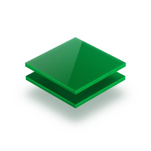 Grün opal Acrylglas Platte