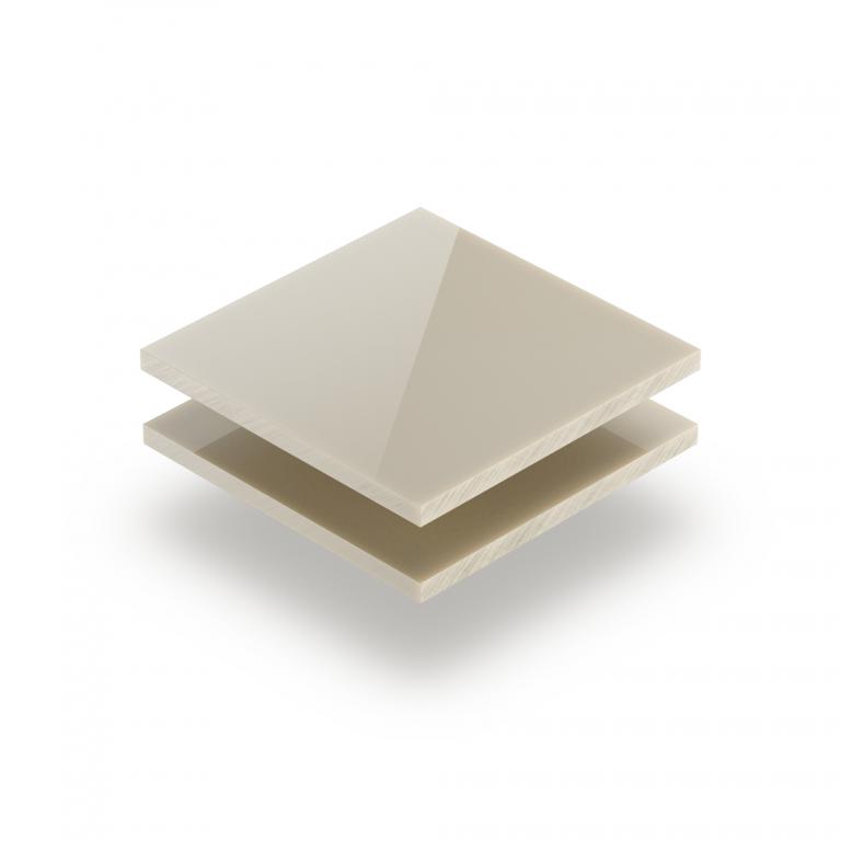 Perlweiß RAL 1013 Acrylglas Platte glänzend