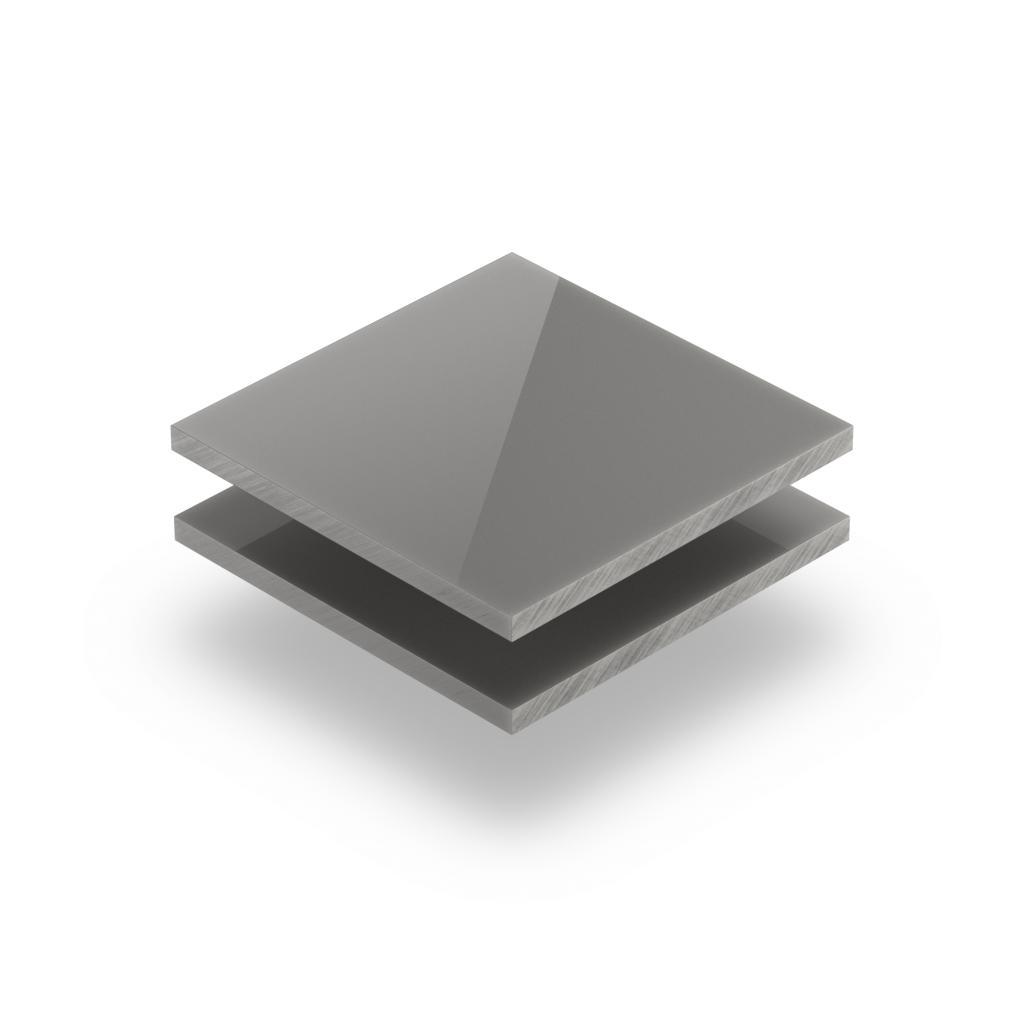 Platingrau RAL 7036 Acrylglas Platte glänzend