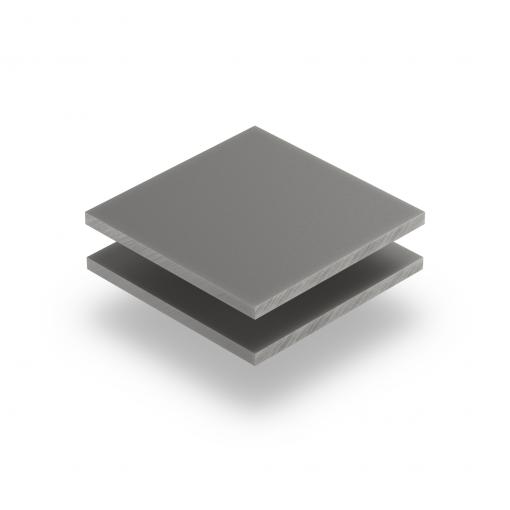 Platingrau RAL 7036 Acrylglas Platte matt