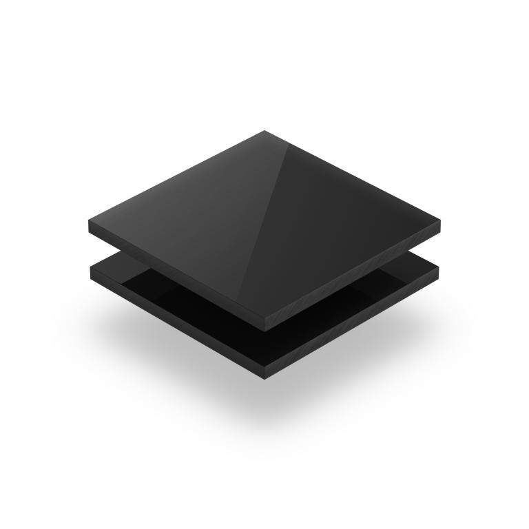 Schwarz Acrylglas Platte GS