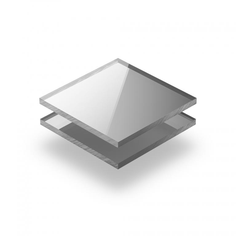 Silber spiegel Acrylglas Platte XT