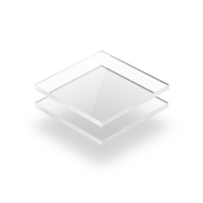 Transparent klar Acrylglas Platte GS