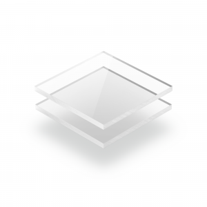 Transparent klar Acrylglas Platte XT Budget