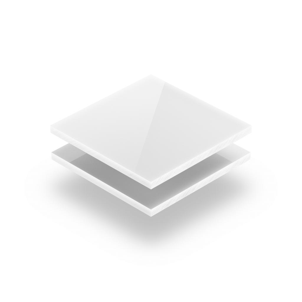 Weiß opal michig Acrylglas Platte XT Budget