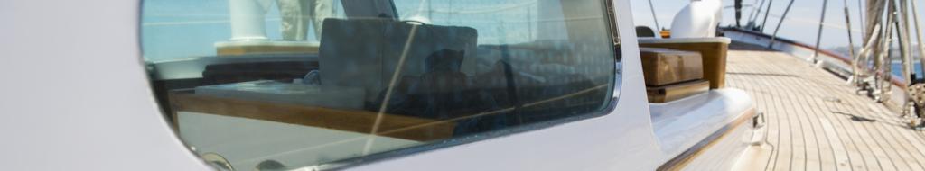 Acrylglas Platten bootfenster