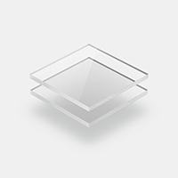 Plexiglas transparent