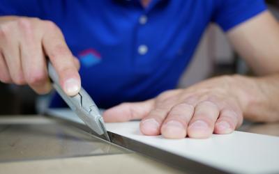 Acrylglasplatten schneiden leicht gemacht