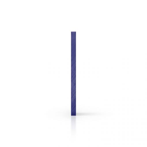 Seite getoent blau Acrylglas Platte