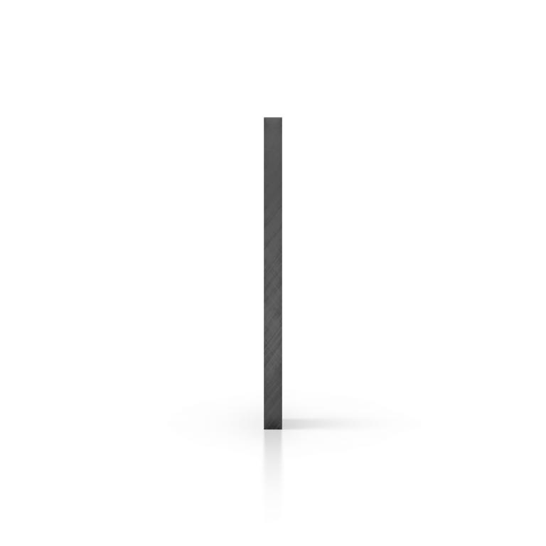 Seite getoent grau Acrylglas Platte