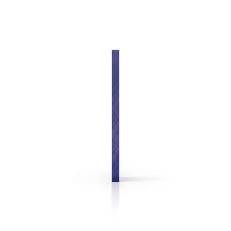 Seite spiegel blau Acrylglas Platte