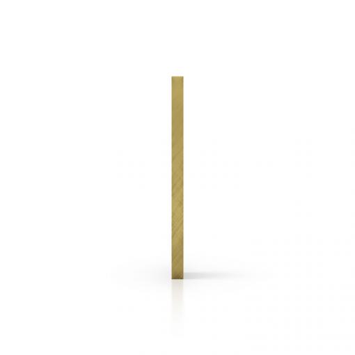 Seite spiegel gold Acrylglas Platte