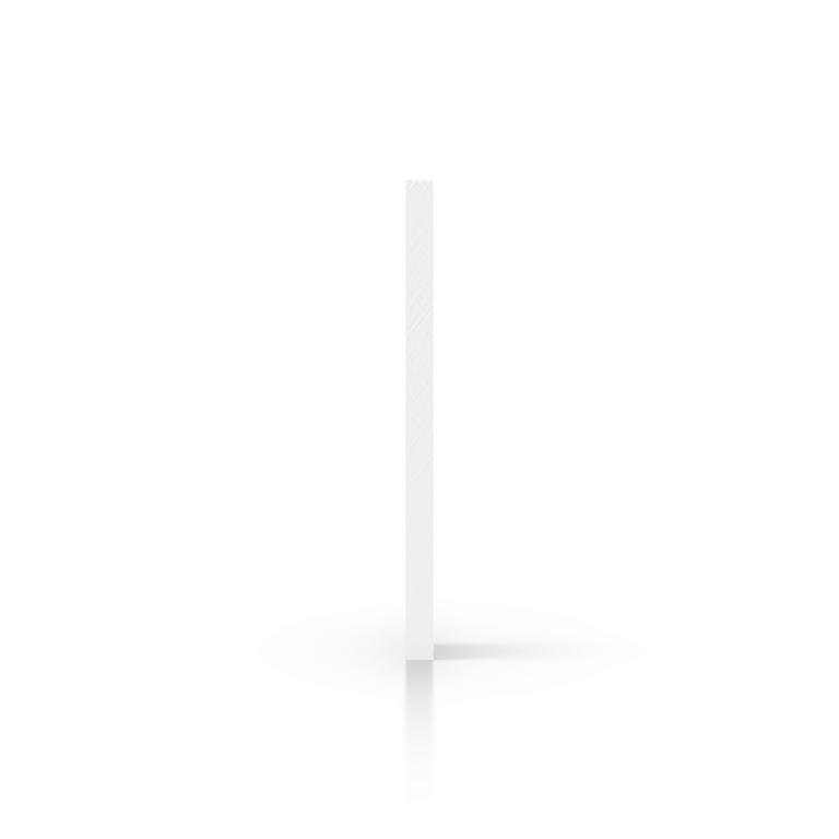 Seite weiss Acrylglas Platte