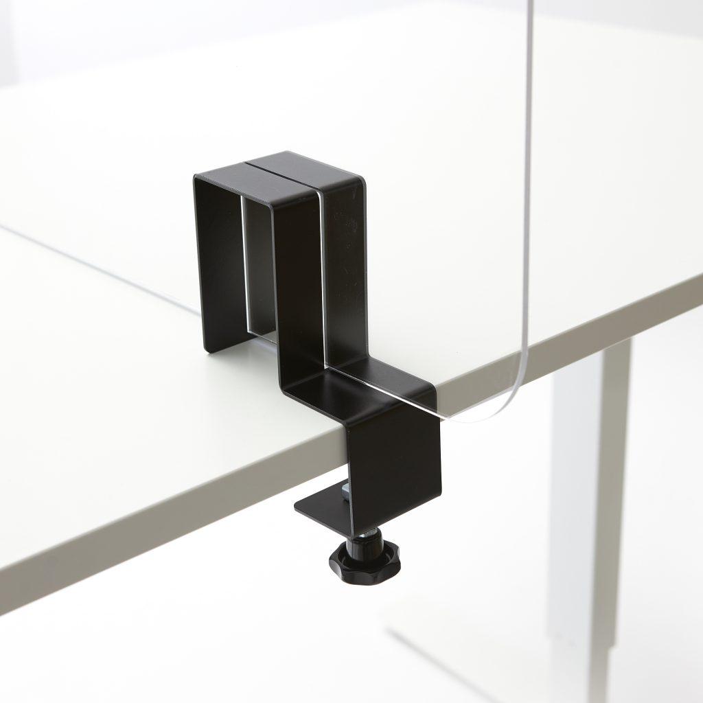 Acrylglas Halterung auf dem Tisch