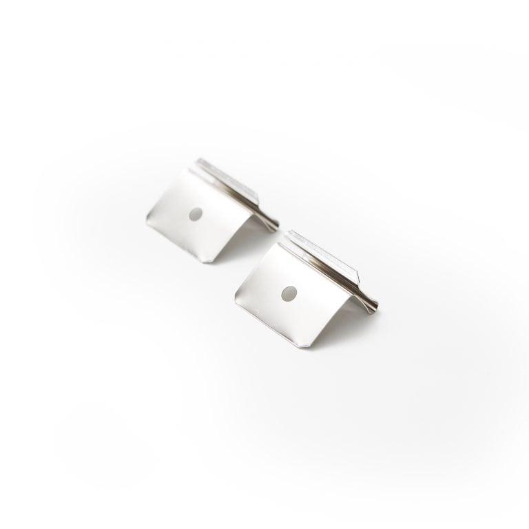 Deckenclip set fuer Acrylglas schutz
