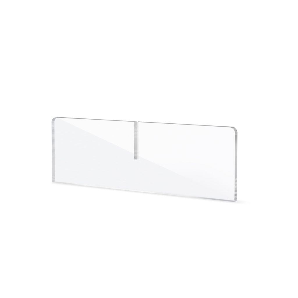 Acrylglas Fuss fuer Schutzwand