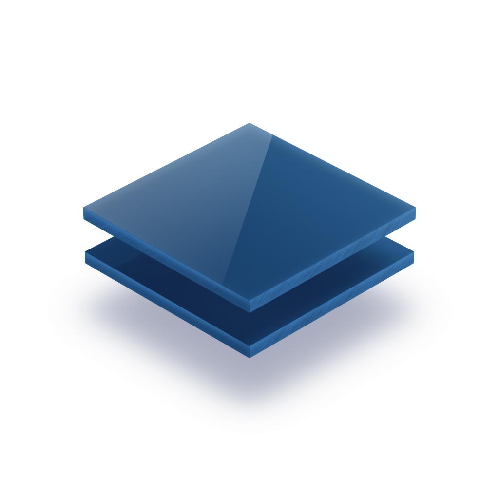 Buchstabenplatte blau 8mm