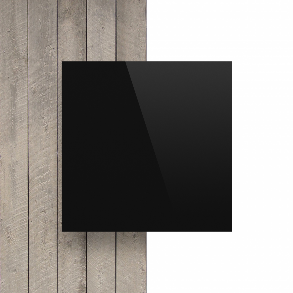 Buchstabenplatte schwarz vorderseite