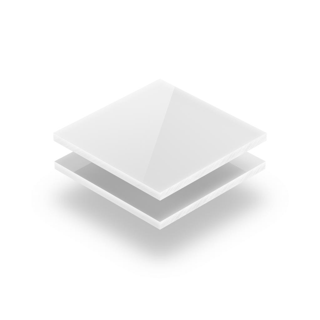Buchstabenplatte weiß 8mm