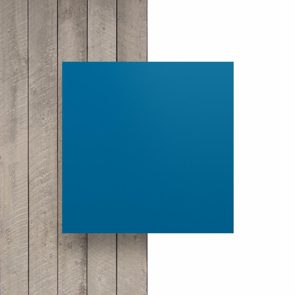 Vorseite Buchstabenplatte verkehrsblau matt
