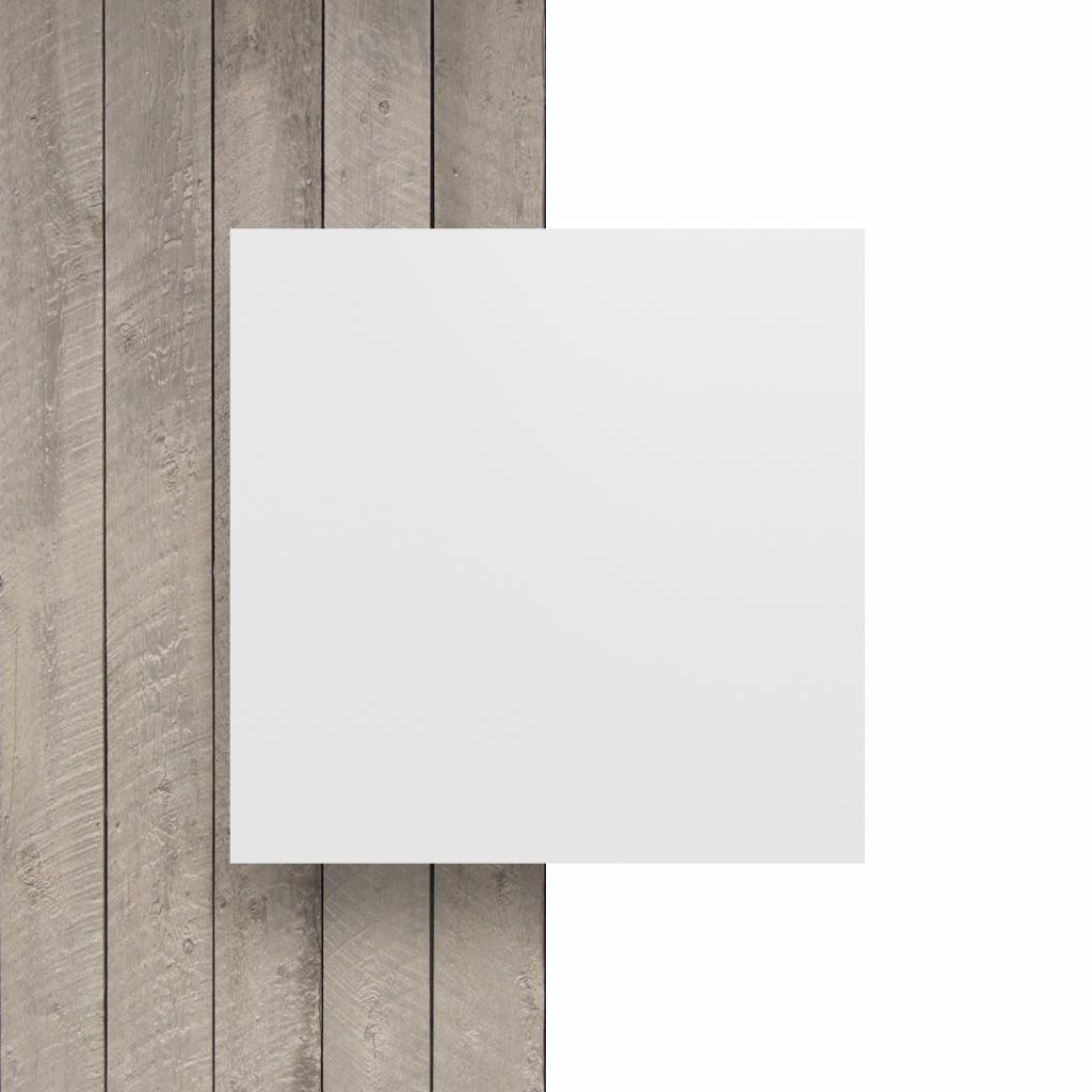 Vorseite Buchstabenplatte weiss matt