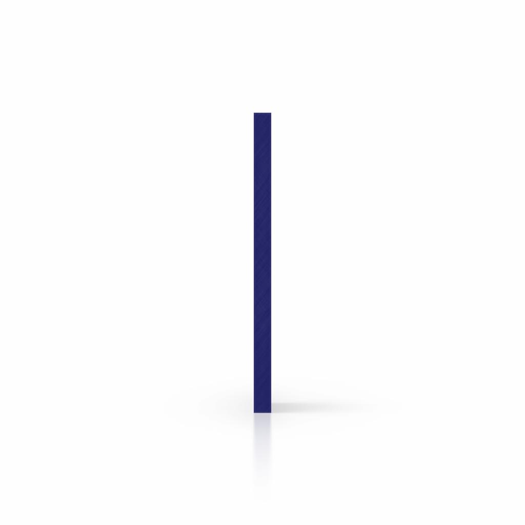 Seite nachtblau Acrylglas Buchstabenplatte