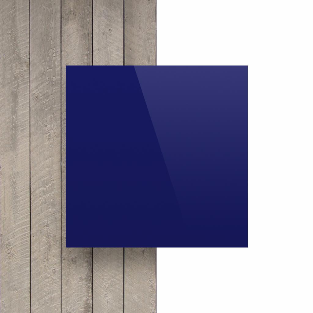 Vorseite Buchstabenplatte nachtblau glaenzend